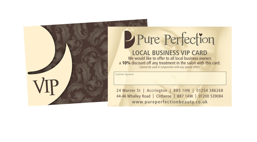 vip pure perfection salons dedicated to top brand beauty. Black Bedroom Furniture Sets. Home Design Ideas