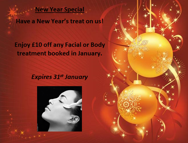 New year archives pure perfection salons dedicated to for Beauty salon xmas offers