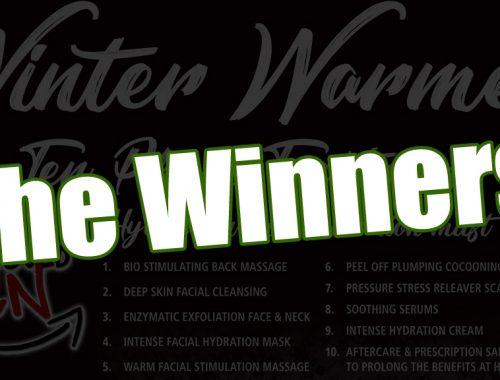 winter warmer treatment winners