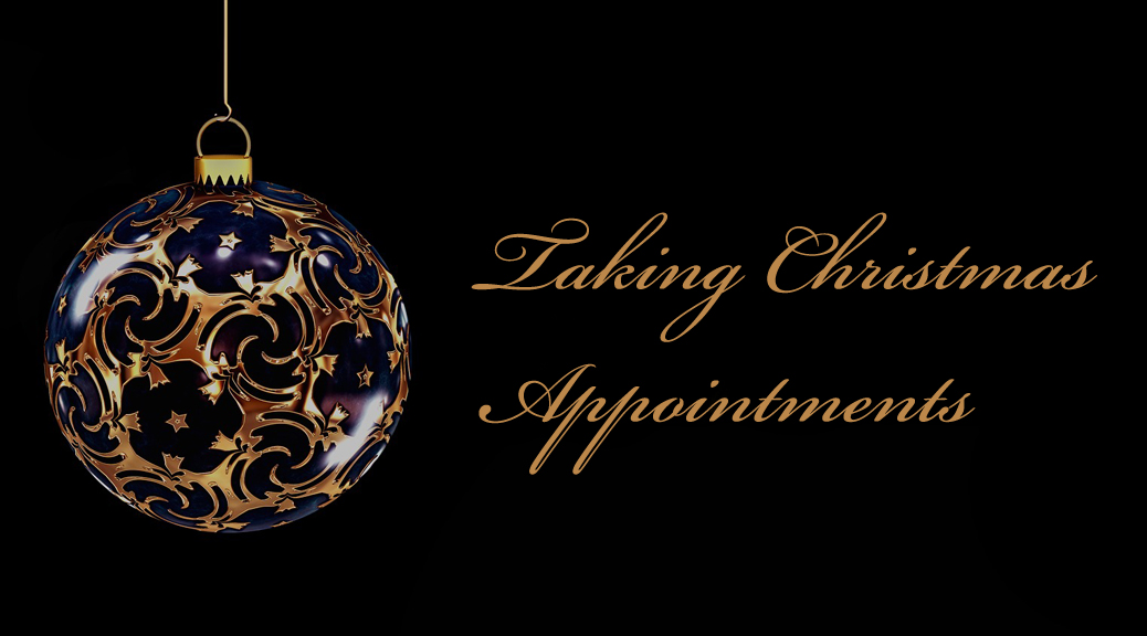 Christmas Beauty Appointments.Pre Book Your Christmas Appointments Now Pure Perfection