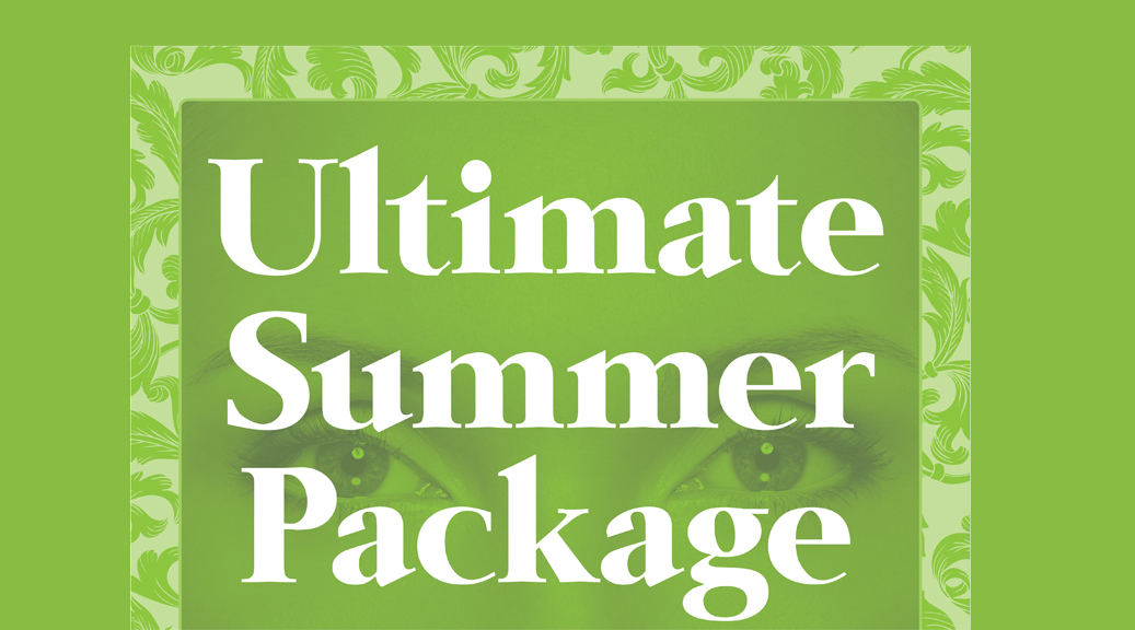 WIN our Ultimate Summer Package
