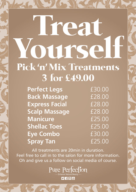 PIX N MIX Beauty Treatments