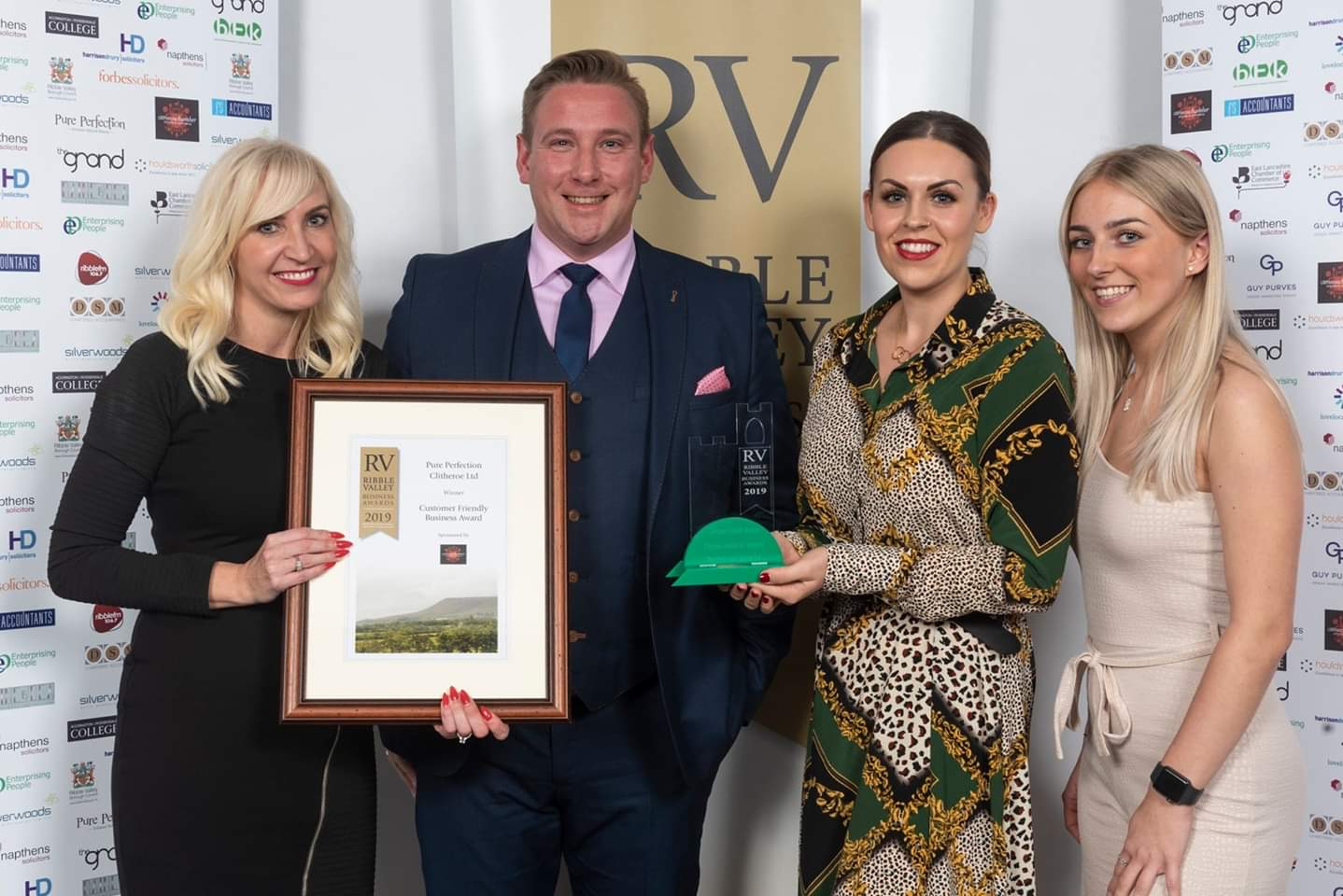 Pure Perfection Won at the Ribble Valley Business Awards 2019