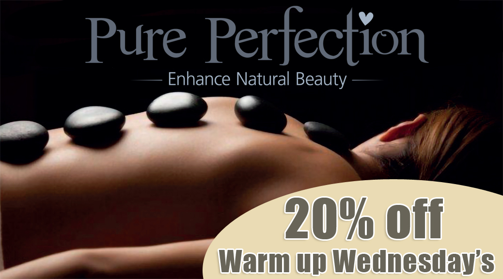 Hot Stones Massage 20% off