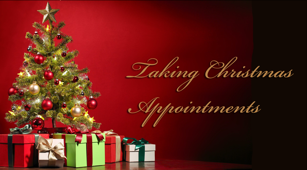 christmas appointments