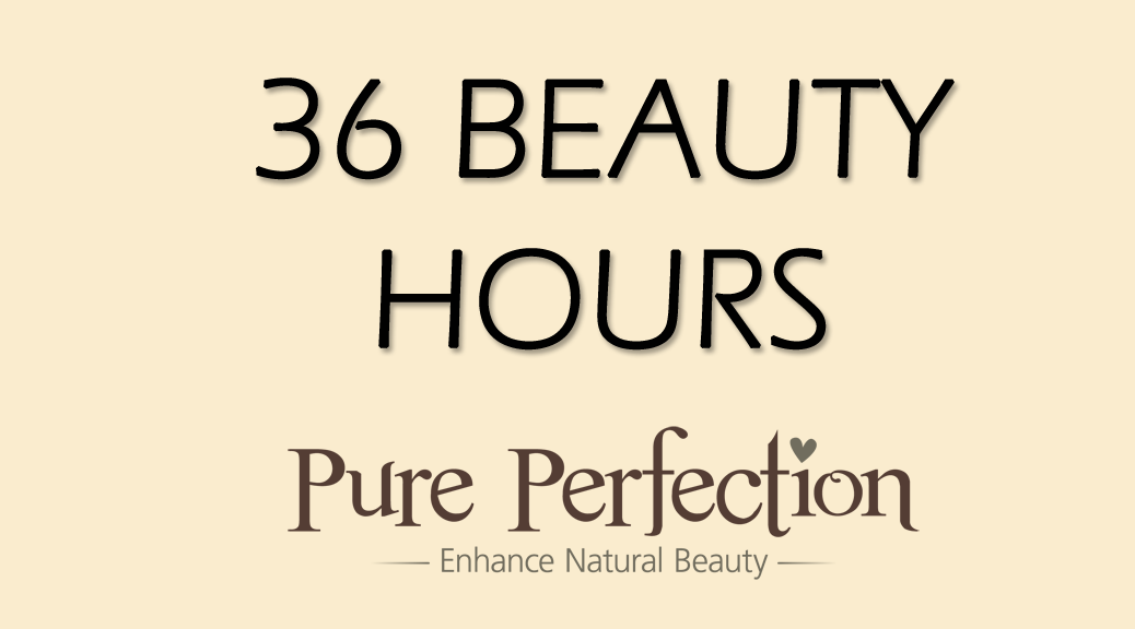 36 BEAUTY HOURS