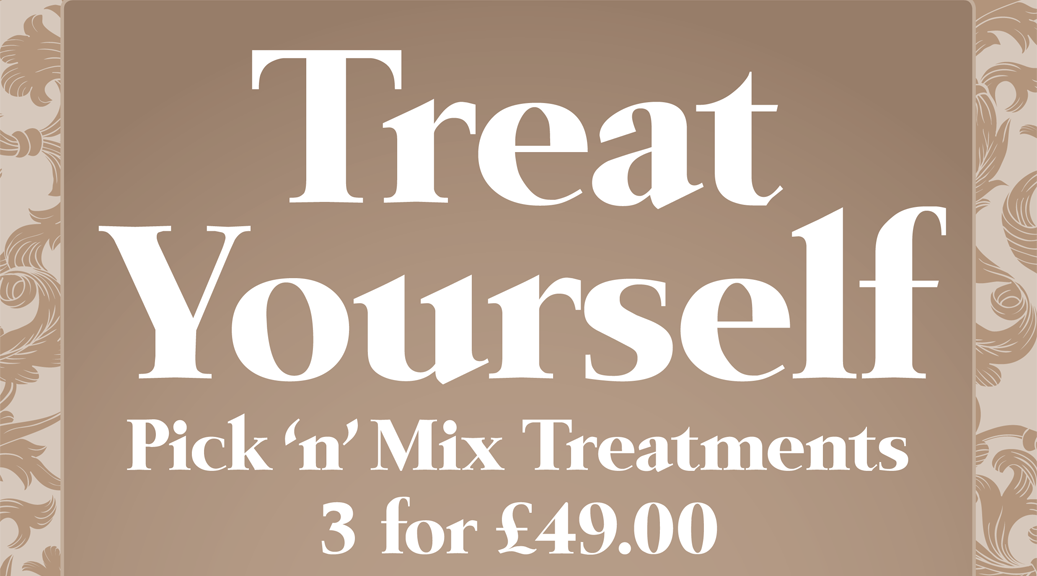 Lockdown is over – Let's Pick 'n' Mix Treatments