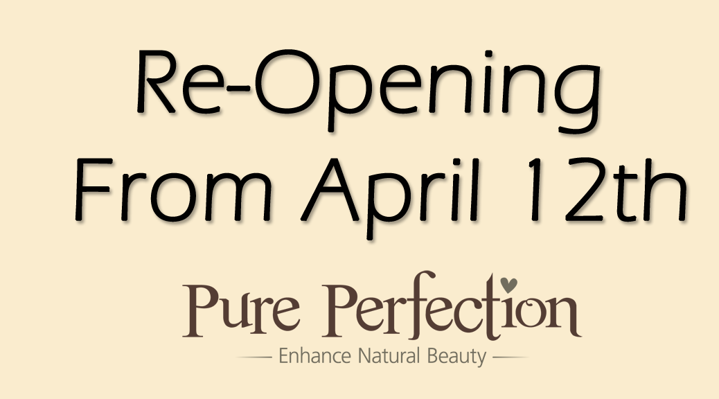 Re-Opening From April 12th