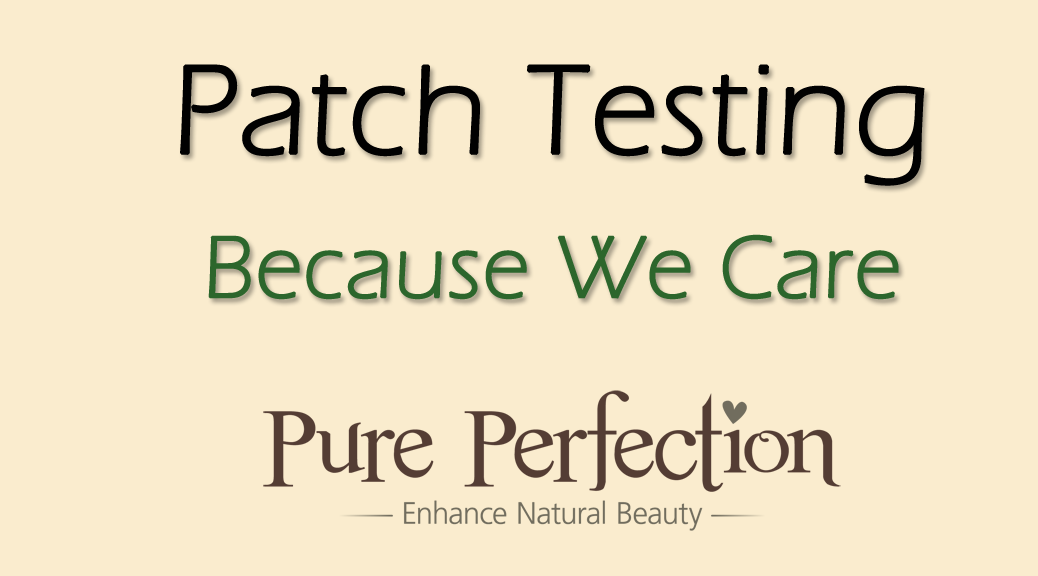 Patch Testing Because We Care